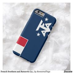 French Southern and Antarctic Lands, flag Barely There iPhone 6 Case
