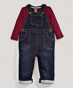 Boys Two Piece Dungaree Set -  Mamas & Papas, €38.00