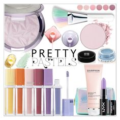 """""""Pretty Pastel Makeup"""" by anilia ❤ liked on Polyvore featuring beauty, Sephora Collection, Givenchy, Forever 21, Deborah Lippmann, Darphin, NYX and pastelmakeup"""