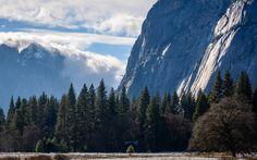 A winter storm rolls in over giant granite walls of Yosemite CA [5549x3468][OC]