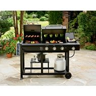 Charcoal/gas grill combo. I need this!