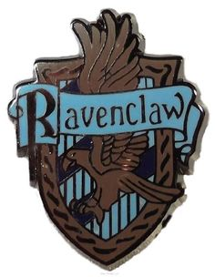 Brand New Harry Potter Series House Ravenclaw Crest Metal Enamel Pin Pin Measures 1 Inches Tall Comes With Secure Military Backing Harry Potter Crest, Harry Potter Cake, Harry Potter Houses, Harry Potter Outfits, Harry Potter Books, Hogwarts Houses, British Logo, Ravenclaw Logo, Military Jewelry