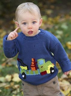 Truck in Berroco Comfort Aran | Knitting Patterns | LoveKnitting