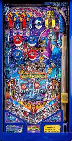 Can Crusher full playfield art Flipper Pinball, Stern Pinball, Pinball Wizard, Pop Art Wallpaper, Retro Arcade, Cartoon Tv Shows, Retro Images, Arcade Machine, Arcade Games
