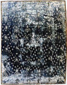 "foxontherun: "" (via arte / dinh q. Claude Monet, Vincent Van Gogh, Types Of Themes, Kind Of Blue, Indian Textiles, Work Inspiration, Art Techniques, Collage Art, New Art"