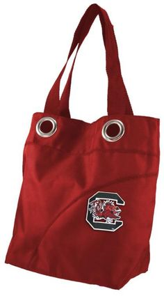 Little Earth Productions NCAA South Carolina Gamecocks Color Sheen Tote {affiliate link}