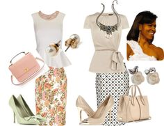 """""""MICHELLE OBAMA STYLE"""" by evelyn-wade on Polyvore"""