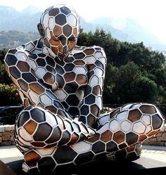 Rabarama, una escultora que te sorprenderá todavía no la conoces? Spiderman, Batman, Astronomy, Cool Pictures, Sculpture, Superhero, Fictional Characters, Beautiful, Ideas
