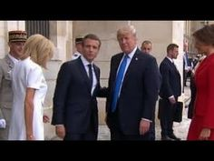 The other Trump Macron handshake everyone's talking about