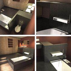 Salle de bain ouverte - Suite parentale