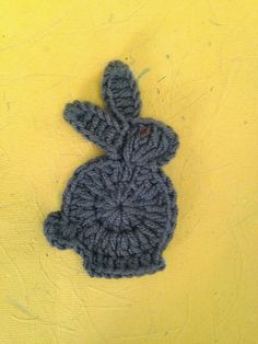Quick Easter Bunny Applique