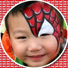 1000 images about schminken on pinterest face paintings spiderman and butterfly face. Black Bedroom Furniture Sets. Home Design Ideas