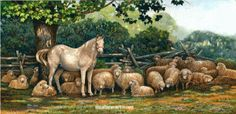 Mia Lane's collection of sold original acrylic and oil paintings, landscapes,animal art, country art, nature paintings