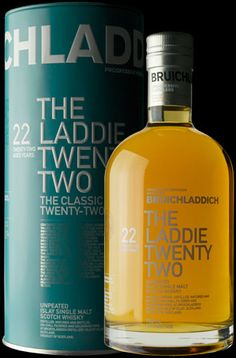 We believe in creativity, in small batch, #artisan #whisky, in always looking round the next corner. We are not afraid to try something new. But we also know when a good thing is best left well alone. This classic twenty two year old represents core Bruichladdich spirit, American oak matured and left to time and the wild Islay airs. Not #chillfiltered or caramel coloured, this is pure #natural whisky, as it should be.
