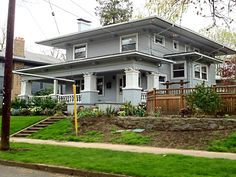 Portland, OR Reminds me of where the Noonan's lived. At Halloween, everyone would turn their home, garage or backyard into a haunted house.