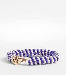 Dual Color Seed Bead Bracelet