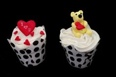 I luv U Valentine Valentine Cupcakes, Valentines, I Luv U, Cupcake Cakes, Facebook, Desserts, Food, Valantine Day, Tailgate Desserts