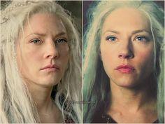 Lagertha new look in vikings season she is still beautiful. Lagertha Hair, Vikings Lagertha, Norse Vikings, Ragnar Lothbrook, King Ragnar, Vikings Tv Series, Vikings Tv Show, Viking Life, Viking Warrior