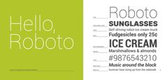 Roboto Android Font
