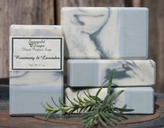 Rosemary & Lavender Handmade Artisan Soap by sagegold on Etsy, $4.75