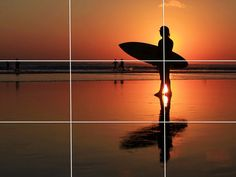Rule of Thirds Graphic Design - Put your subject at one of the intersection points.