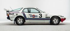 1981 Porsche Rally 924 in Martini livery
