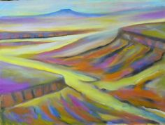 Canyonlands painted by Jan Ketza, Abiqui NM