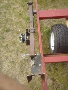 Tent Trailer to a 2015 Wheel House Trailer Dolly, Pop Up Trailer, Utility Trailer, Ice Fishing Shanty, Ice Shanty, Ice Fishing House, Fishing Shack, Trailer Plans, Trailer Build