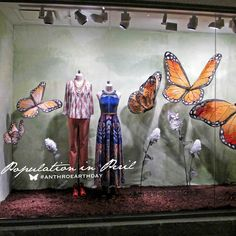Anthropologie - Earth Day, Our Way: Window Gallery --Chelsea Market, New York, NY