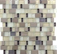 vidrio mezcla de mármol mosaicos, baldosas de arte del diseño de mosaico…