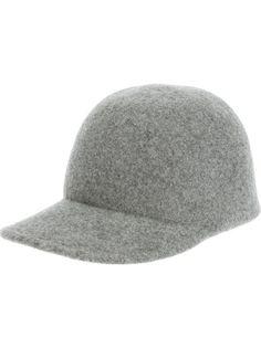 0ddc9e7bfec STELLA MCCARTNEY Felt Cap at farfetch.com Caps Hats, Hats For Women,  Fascinator