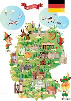 munich cartoon map images - Yahoo Image Search Results
