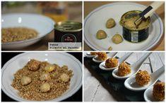 bombones de foie Healthy Diet Recipes, Cooking Recipes, No Cook Appetizers, Lamb Burgers, Food Truck, No Cook Meals, Finger Foods, Love Food, Holiday Recipes