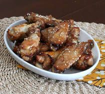 Sesame Chicken Wings Recipe - Baked Chicken Wings with Sesame Seeds