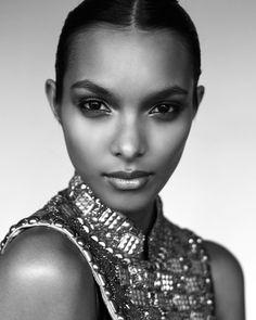 Flawless makeup! lais ribeiro model7 Lais Ribeiro Stuns in Images by Jurij Treskow