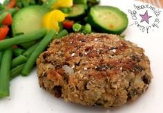 ☆ Steack Vegetarian ☆ For 12 steaks of 65 g each 125 g of lentils v . Vegetarian Steak, Pesco Vegetarian, Vegetarian Recipes, Healthy Recipes, Homemade Vegetable Broth, Vegetable Recipes, Healthy Cooking, Cooking Recipes, Salty Foods