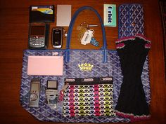 What's in my bag by Chiza, via Flickr
