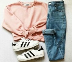 Best Cute Fall Outfits Part 37 Cute Comfy Outfits, Cute Outfits For School, Cute Casual Outfits, Cute Summer Outfits, Teenage Outfits, Teen Fashion Outfits, Outfits For Teens, Girl Outfits, Blue Jean Outfits