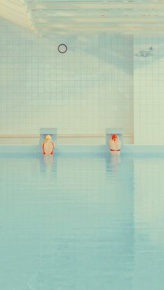 Swimming Pool By Maria Svarbova