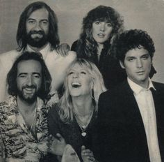 Fleetwood Mac, 1979...from the People Magazine cover photo shoot.