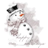 weihnachten aquarell ink and watercolour snowman - - Watercolor Christmas Cards, Christmas Drawing, Christmas Paintings, Watercolor Cards, Snowmen Paintings, Snowmen Pictures, Illustration Noel, Frosty The Snowmen, Winter Art
