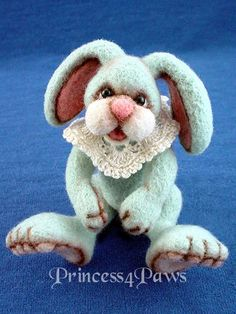 needle felting bunny rabbit