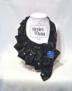 NEW BluSquare Fabric Necktie Necklace Unique by stylesbyana, $29.99