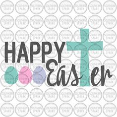 BUY NOW ON ETSY Happy Easter svg png eps pdf jpg dxf