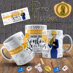 Engineer Mug, Mugs, Tableware, Photos, Bright Colors, Unique Gifts, Engineer, Personalized Mugs, Porcelain Ceramics