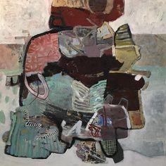 "Friday Live 36"" x 36"" oil on board #painting #art #contemporaryart #abstract #studio #artcollector #artistsoninstagram #abstractart #modernart"