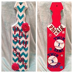 Twin's paddle!! Needs a few finishing touches, but so happy with how it turned out! PHI SIG LOVE!