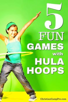 Growing up, I'm sure we all played with the hula hoop and creating fun hula hoop games was a weekend tradition. Hula hoops have stood the test of time because they're affordable, easy to find, and involve many games to solo or with your friends. Recess Games, Gym Games, Camping Games, Home Games For Kids, Games For Kids Classroom, Hula Hoop Games, Dance Camp, Pole Dance, Physical Education Games