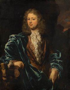 Nicolaes Maes, Portret van Cornelis ten Hove (1658-1694), c. 1682