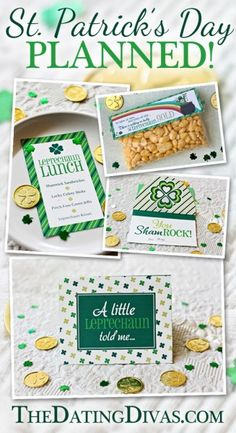 SUPER cute pop-up card for my hubby and a great lunch idea for the kiddos! www.TheDatingDivas.com Saint Patrick, St Pattys, St Patricks Day, Holiday Crafts, Holiday Fun, Great Lunch Ideas, Spring Treats, Lucky Day, St Paddys Day